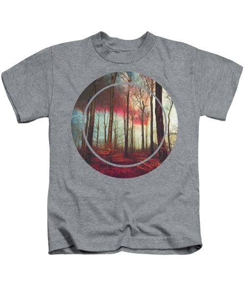 Ruby Red Evening Kids T-Shirt