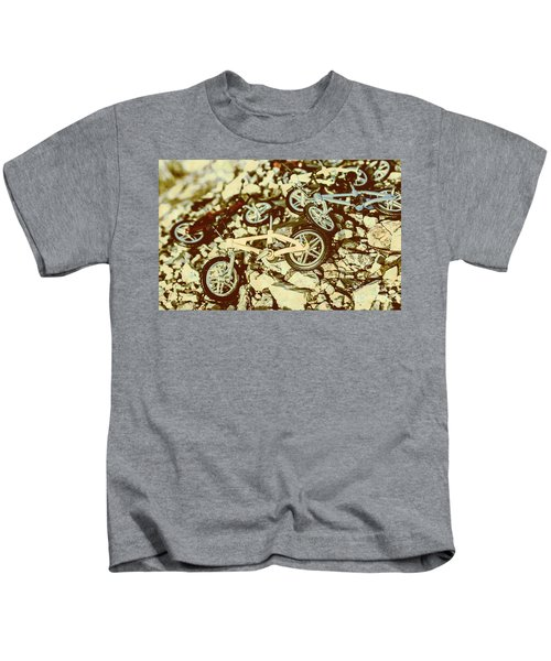 Rugged Biking Kids T-Shirt
