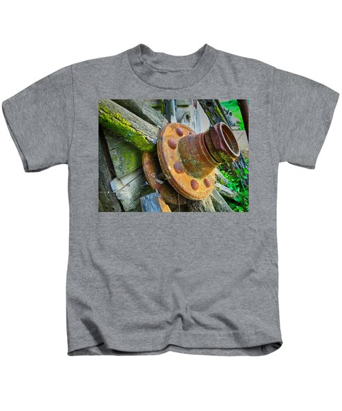 Rusted Hub Kids T-Shirt