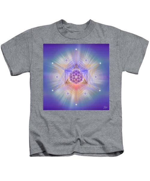 Sacred Geometry 734 Kids T-Shirt