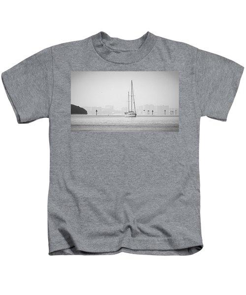 Sail Out Of Sarasota Kids T-Shirt
