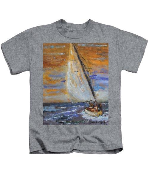 Sailng Nto The Sun Kids T-Shirt