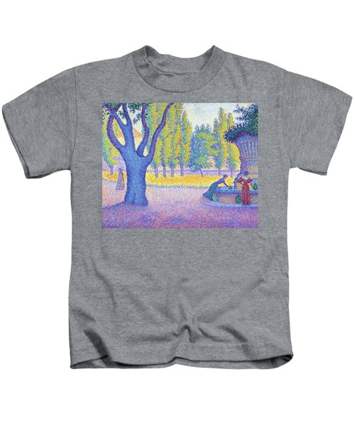 Saint-tropez, Fountain Of The Lices - Digital Remastered Edition Kids T-Shirt