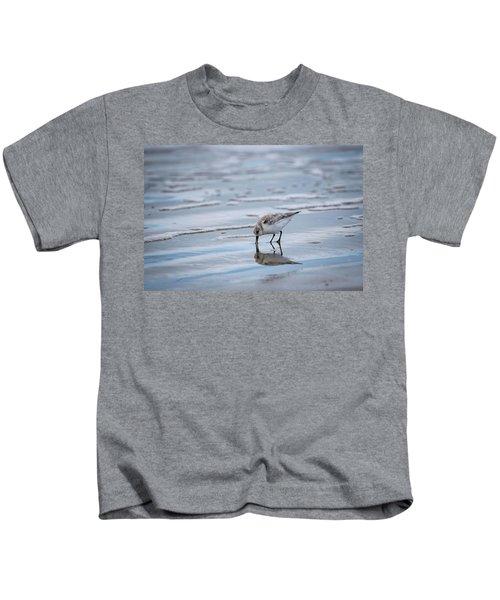 Sanderling Foraging Kids T-Shirt