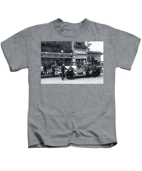 Santa Monica Firemen 1920 Kids T-Shirt
