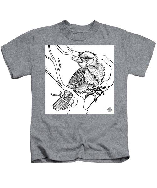 Scarlet Tanager Kids T-Shirt
