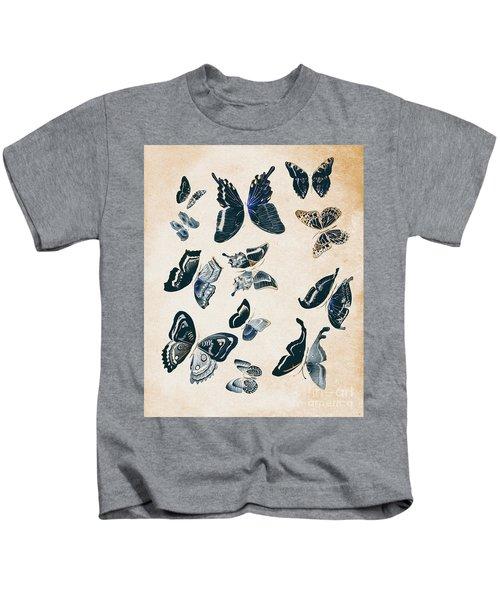 Scrapbook Butterflies Kids T-Shirt