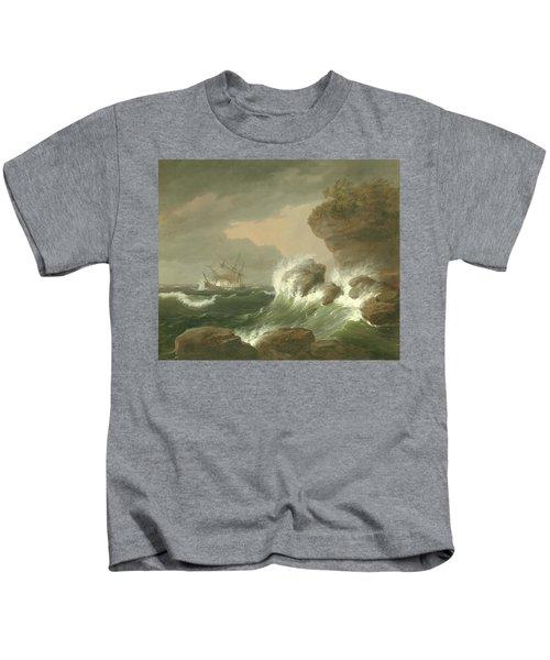 Seascape, 1835 Kids T-Shirt