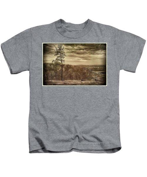 Sepia Sunset Kids T-Shirt