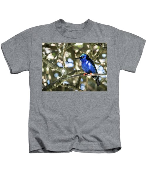 Shades Of Blue Kids T-Shirt