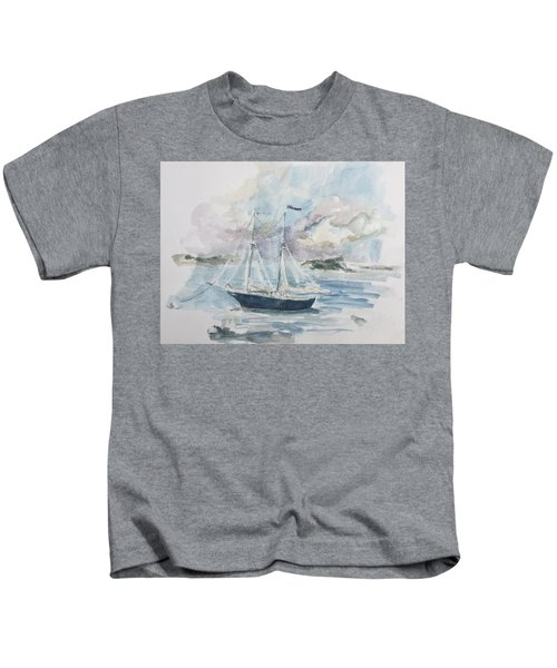 Ship Sketch Kids T-Shirt