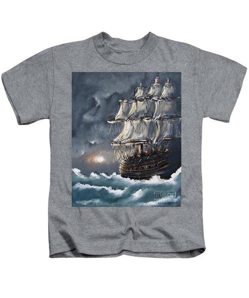 Ship Voyage Kids T-Shirt
