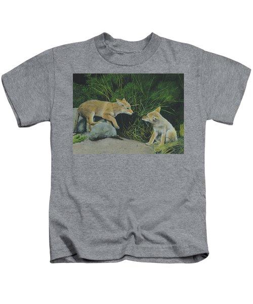 Sibling Rivalry Kids T-Shirt