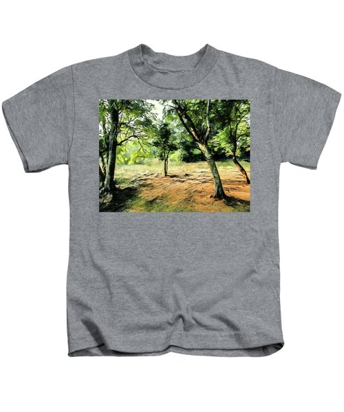Silence Of Forest Kids T-Shirt