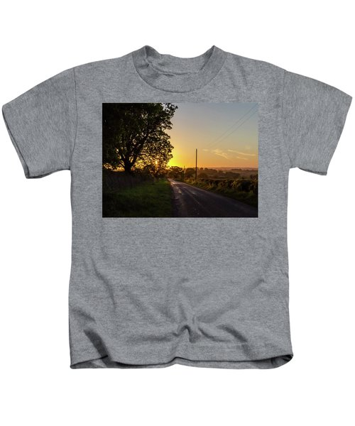 Silver Lines Kids T-Shirt