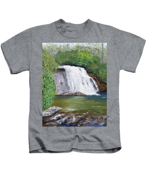 Silver Run Falls Kids T-Shirt