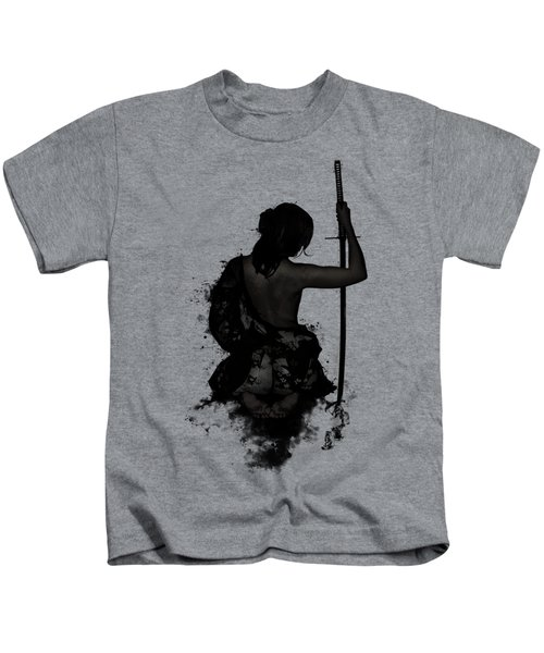 Female Samurai - Onna Bugeisha Kids T-Shirt