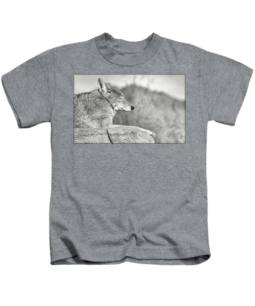 Sleepy Coyote Kids T-Shirt