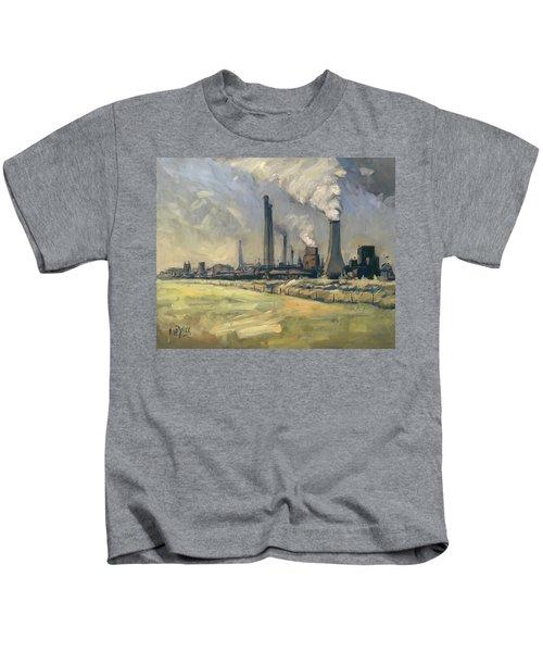 Smoke Stacks Prins Maurits Mine Kids T-Shirt