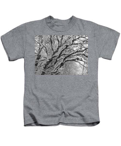 Snow Melt Kids T-Shirt