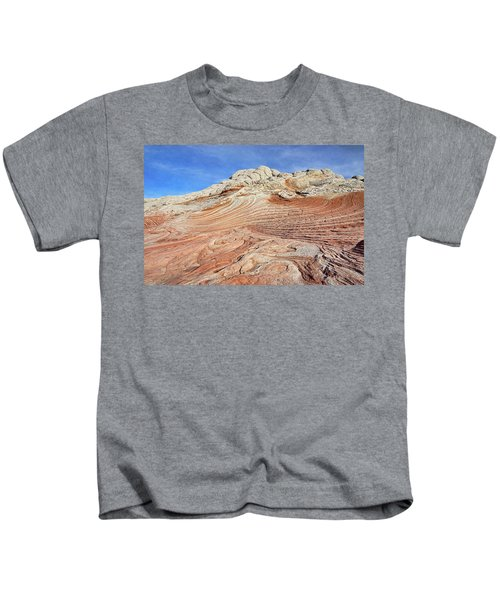 Solid Waves Pano Kids T-Shirt