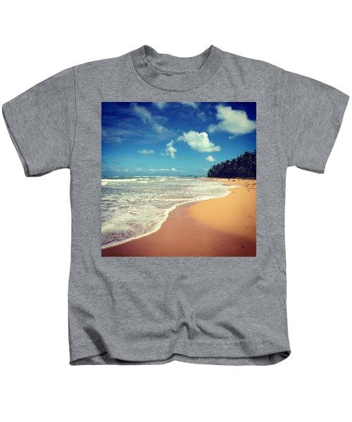 Solitude Beach Kids T-Shirt