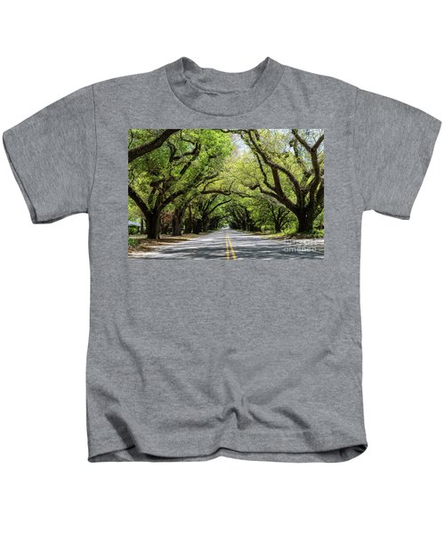 South Boundary Ave Aiken Sc Kids T-Shirt