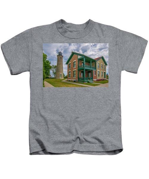 Southport Lighthouse  Kids T-Shirt