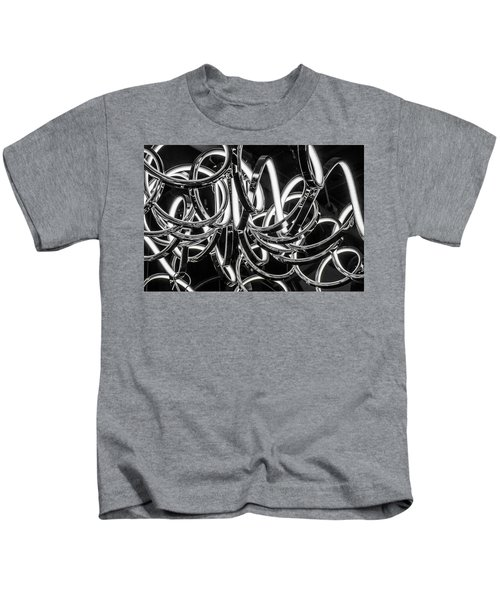 Spirals Of Light Kids T-Shirt