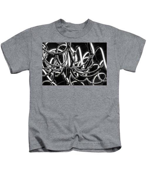 Spirals Of Light Kids T-Shirt