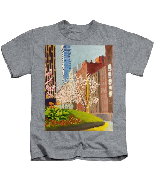 Spring In Worth St Kids T-Shirt