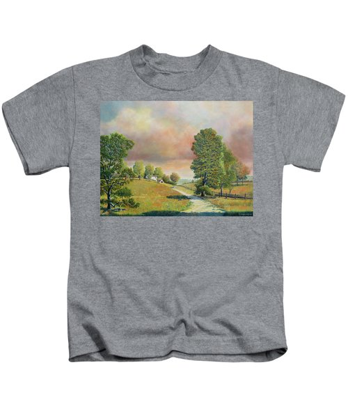 Spring Path Kids T-Shirt