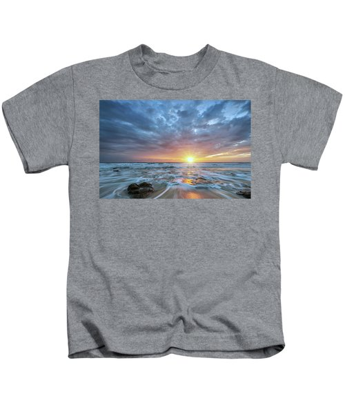 St. Augusting Sunrise  Kids T-Shirt