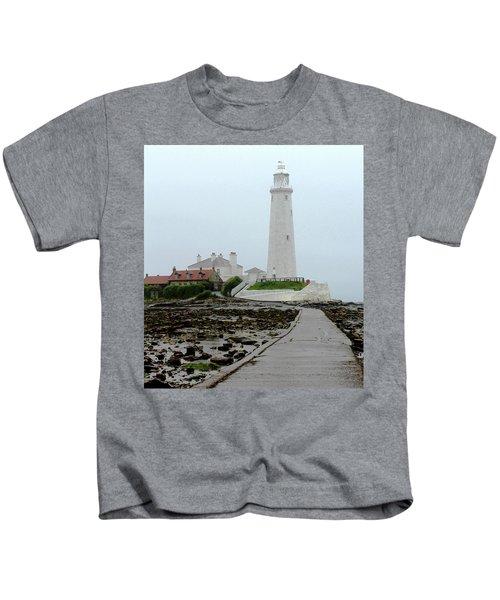 St Mary's Lighthouse Kids T-Shirt