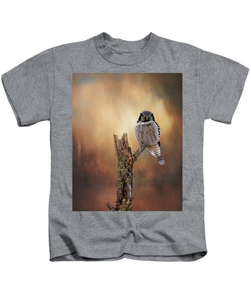 Stare Into My Eyes Kids T-Shirt