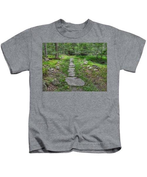 Stepping Stone Path - Kinnelon Kids T-Shirt