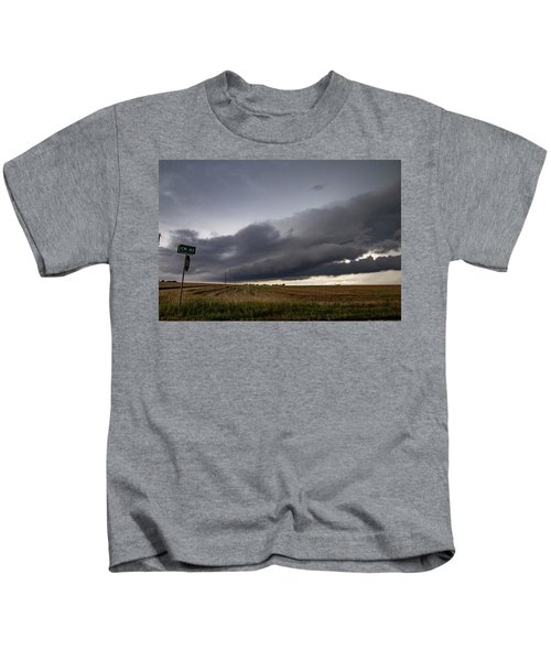 Storm Chasin In Nader Alley 004 Kids T-Shirt