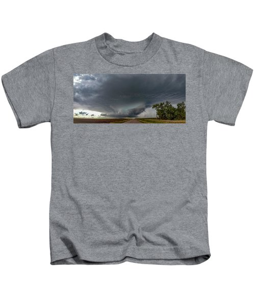 Storm Chasin In Nader Alley 008 Kids T-Shirt