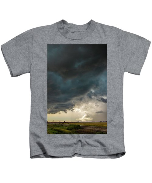 Storm Chasin In Nader Alley 012 Kids T-Shirt
