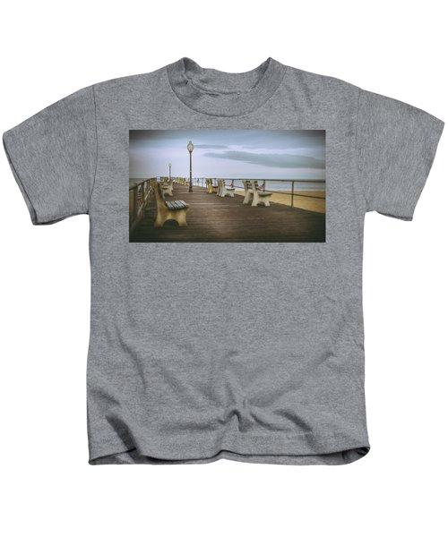 Stormy Boardwalk 2 Kids T-Shirt