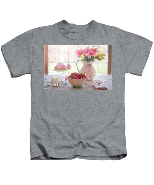 Strawberry Breakfast Kids T-Shirt