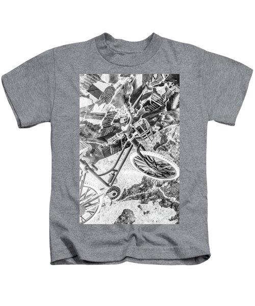 Street Cycles Kids T-Shirt