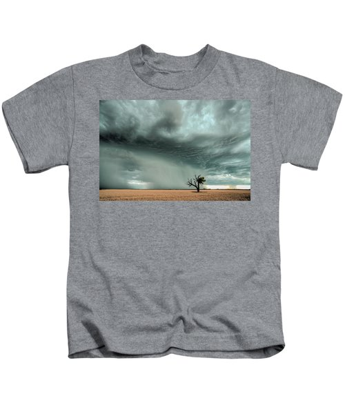 Strong Lone Tree Kids T-Shirt
