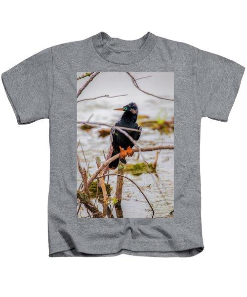 Stunning Anhinga Kids T-Shirt