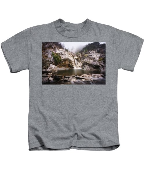 Suchurum Waterfall, Karlovo, Bulgaria Kids T-Shirt