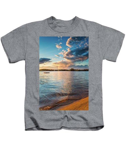 Summer Shower  Kids T-Shirt