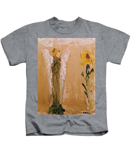 Sunflower Angel Kids T-Shirt