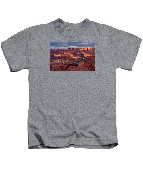 Sunrise At Dead Horse Point State Park Kids T-Shirt