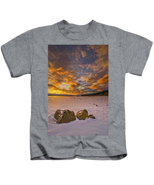 Sunrise Rocks Kids T-Shirt