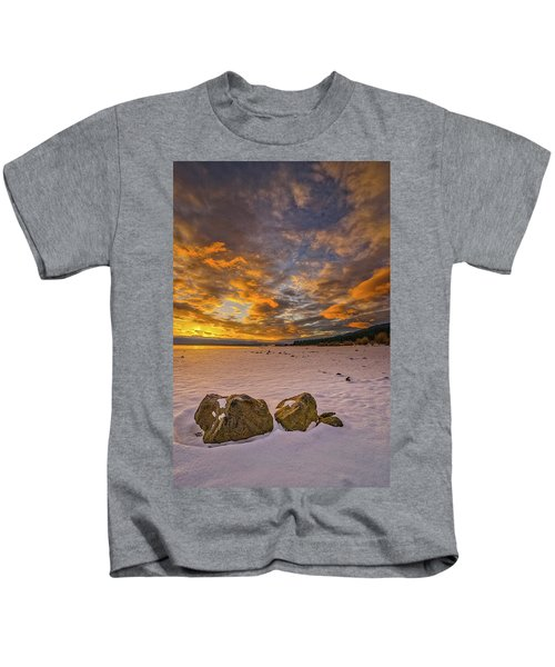 Sunrise Rocks Kids T-Shirt